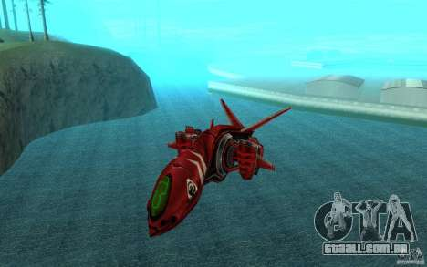 MOSKIT air Command and Conquer 3 para GTA San Andreas