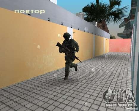 Frost do CoD MW3 para GTA Vice City terceira tela