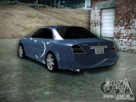 Nissan Gloria para GTA San Andreas esquerda vista