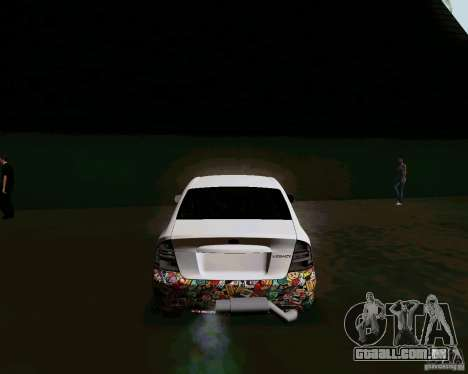 Subaru Legacy JDM para GTA San Andreas traseira esquerda vista