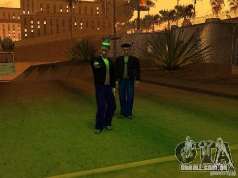 Gopnik peles para GTA San Andreas segunda tela