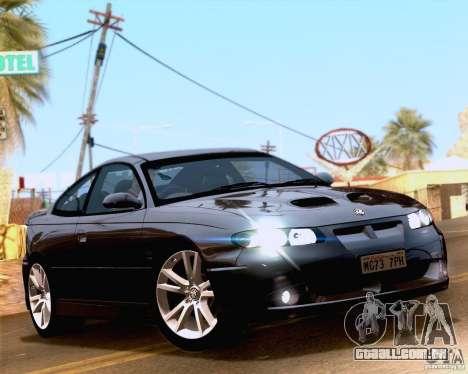 Vauxhall Monaro VXR para GTA San Andreas vista direita