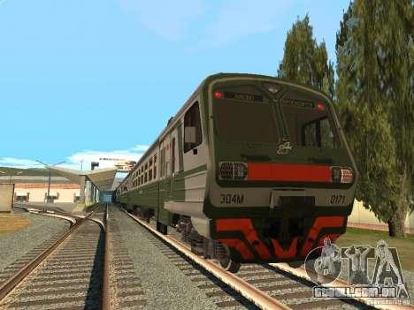 ÈD4M-0171 para GTA San Andreas vista traseira