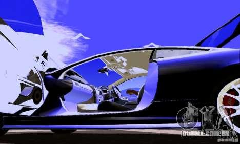 Jaguar XKRS para vista lateral GTA San Andreas