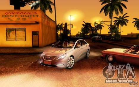 Hyundai Sonata 2011 para GTA San Andreas esquerda vista