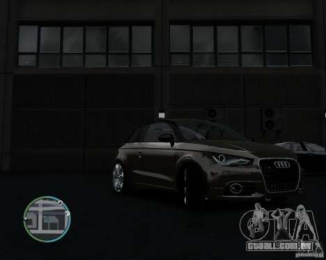Audi A1 v.2.0 para GTA 4 esquerda vista