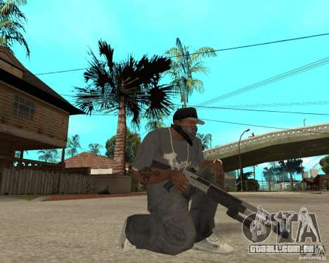 M1049 para GTA San Andreas terceira tela