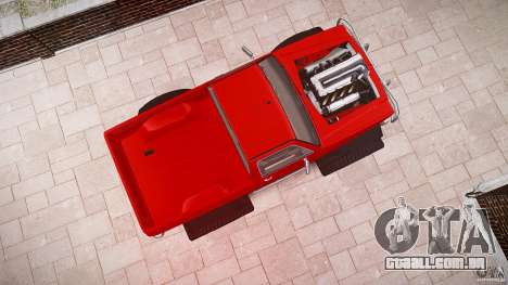 MonsterTruck para GTA 4 vista lateral