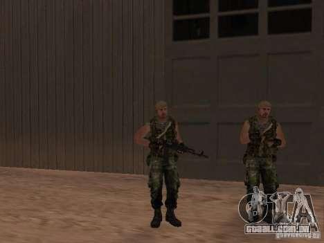 Comando russo para GTA San Andreas sexta tela