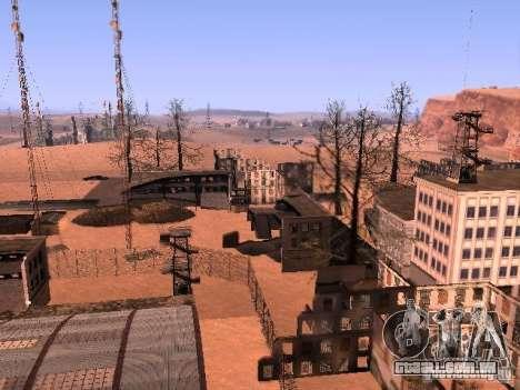 Chernobyl MOD v1 para GTA San Andreas quinto tela