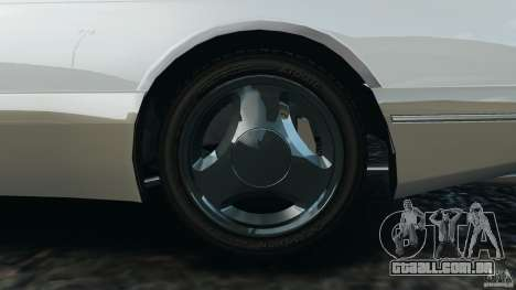 Saab 900 Coupe Turbo para GTA 4 interior