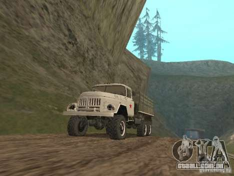 ZIL 131 Main para GTA San Andreas