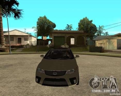 KIA Forte Coup para GTA San Andreas