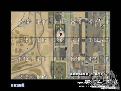 O novo edifício do ve para GTA San Andreas quinto tela