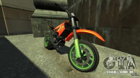 Stunt Supermotard Sanchez para GTA 4 esquerda vista
