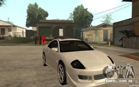 Mitsubishi Eclipse 2003 V1.5 para GTA San Andreas vista traseira