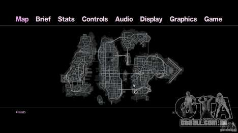 VC estilo Radar/HUD (1 pele) para GTA 4 terceira tela