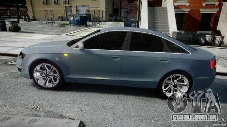 Audi A6 TDI 3.0 para GTA 4 esquerda vista