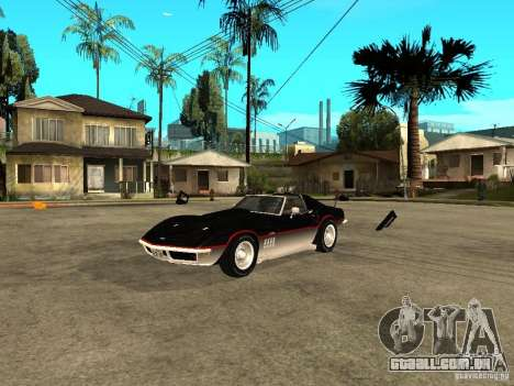 Chevrolet Corvette 1968 Stingray para GTA San Andreas