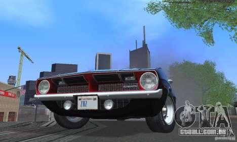 ENBSeries by dyu6 Low Edition para GTA San Andreas nono tela