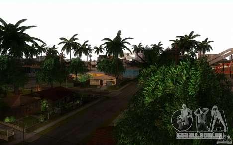 Vegetação perfeita v. 2 para GTA San Andreas quinto tela