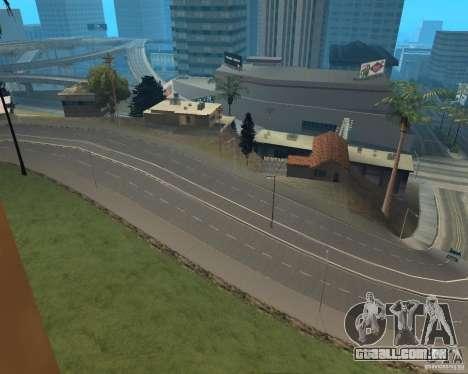 Novas estradas em Vinewoode (Los Santos) para GTA San Andreas