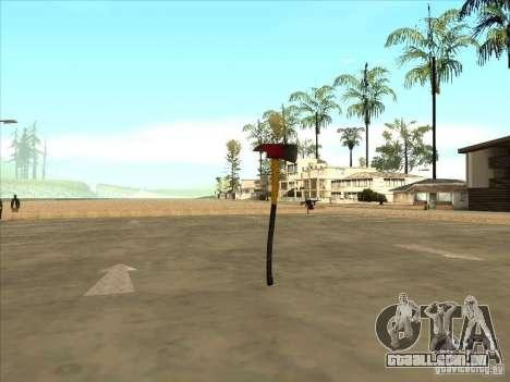 Um machado do Killing Floor para GTA San Andreas