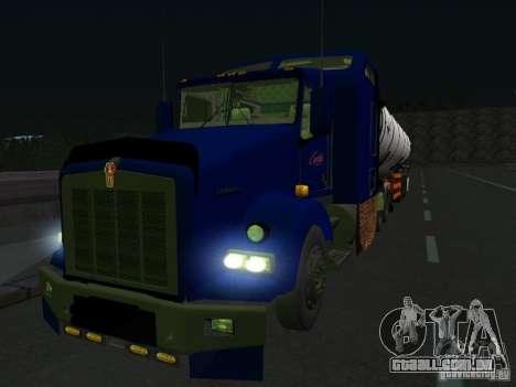 Kenwort T800 Carlile para GTA San Andreas