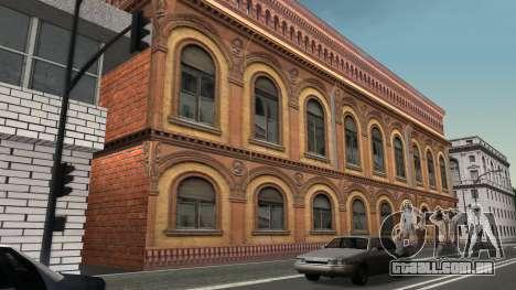 Estrutura de garagens e edifícios em SF para GTA San Andreas quinto tela