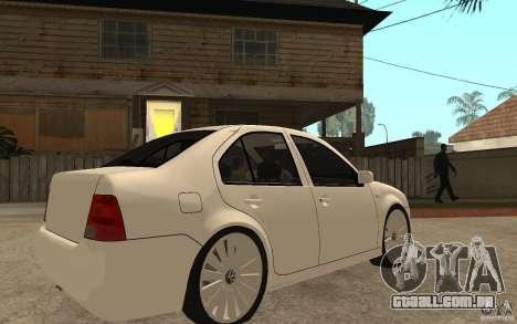 Volkswagen Bora PepeUz Edition para GTA San Andreas vista direita