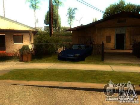 New Car in Grove Street para GTA San Andreas terceira tela