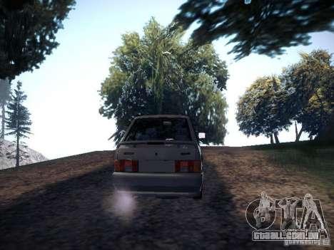 Dreno Vaz 2113 para GTA San Andreas traseira esquerda vista