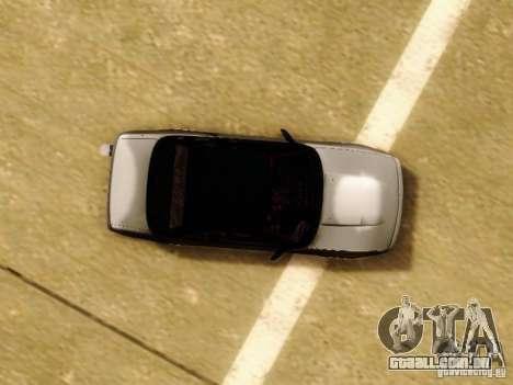 Nissan S13 - Touge para vista lateral GTA San Andreas