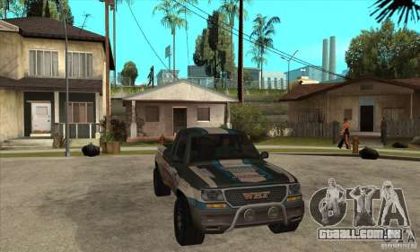 Nevada from FlatOut 2 para GTA San Andreas vista traseira