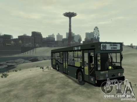 MAZ 103 ônibus para GTA 4 esquerda vista