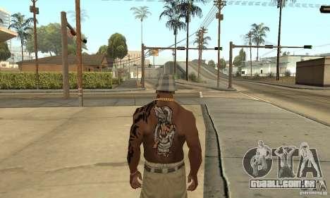 Tatu CJ para GTA San Andreas terceira tela