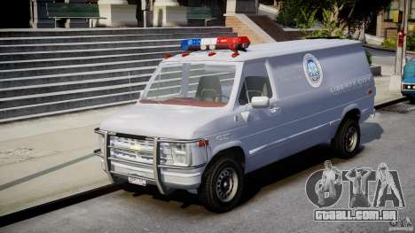 Chevrolet G20 Police Van [ELS] para GTA 4