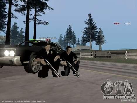 Black & White guns para GTA San Andreas terceira tela