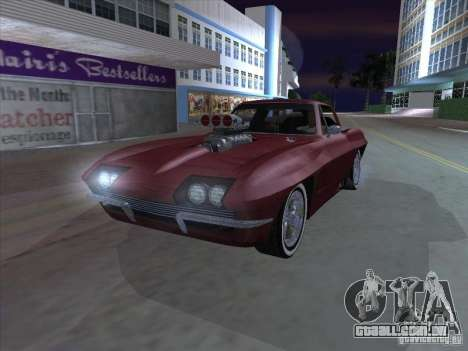 Chevrolet Corvette Big Muscle para GTA San Andreas