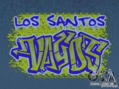 New LS gang tags para GTA San Andreas oitavo tela