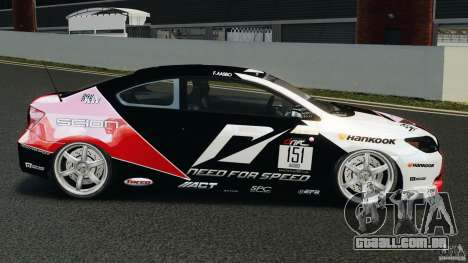 Scion TC Fredric Aasbo Team NFS para GTA 4 esquerda vista