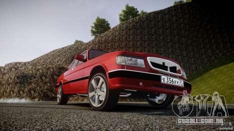 Gaz-3110 Turbo WRX STI v 1.0 para GTA 4 rodas