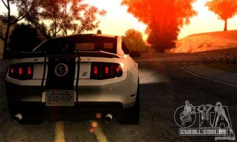 SA gline v4.0 Screen Edition para GTA San Andreas terceira tela