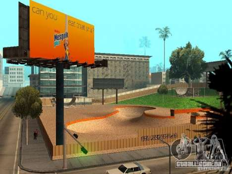 New SkatePark v2 para GTA San Andreas décima primeira imagem de tela