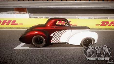 Willys Americar 1941 para GTA 4 esquerda vista