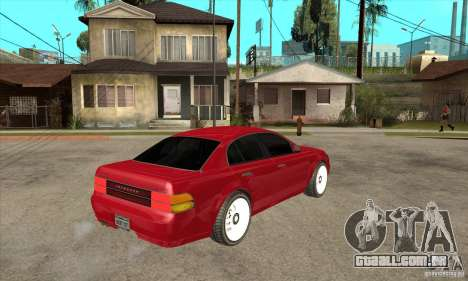 GTA IV Intruder para GTA San Andreas vista direita