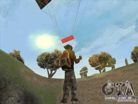 Nuvens bonitas e muito mais para GTA San Andreas segunda tela
