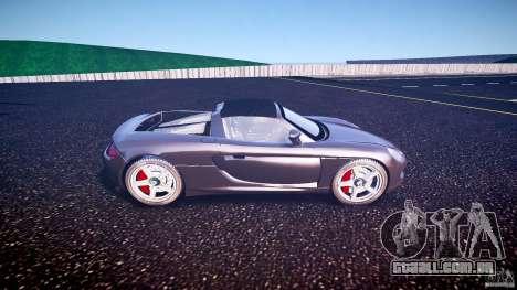 Porsche Carrera GT v.2.5 para GTA 4 esquerda vista