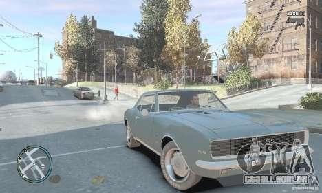Chevrolet Camaro SS 1969 para GTA 4 vista direita