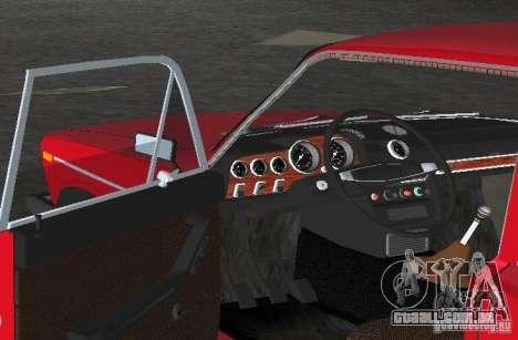 VAZ 2106 para GTA Vice City vista lateral